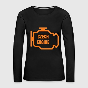 CZECH_ENGINE - Women's Premium Long Sleeve T-Shirt
