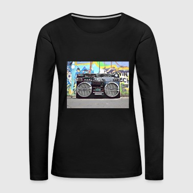 DC 102 Full Color Graffiti - Women's Premium Long Sleeve T-Shirt