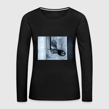 sit on me - Women's Premium Long Sleeve T-Shirt