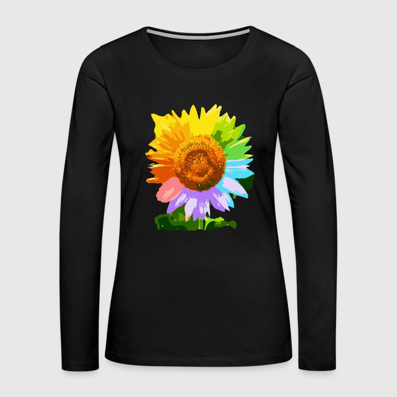 Sunflower Shirt - Women's Premium Long Sleeve T-Shirt