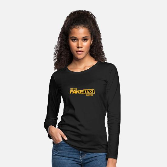 Drive Long-Sleeve Shirts - Fake Taxi - Women's Premium Longsleeve Shirt black