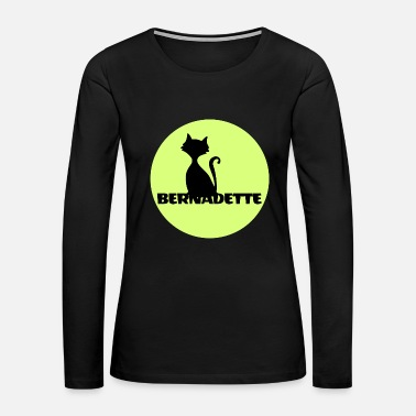 Name Day Bernadette name first name - Women's Premium Long Sleeve T-Shirt