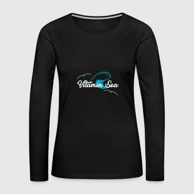 Vitamin vitamin - Women's Premium Long Sleeve T-Shirt
