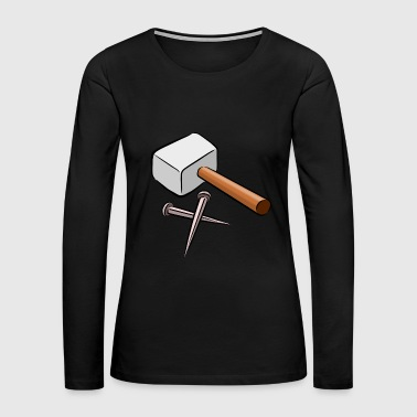 Nails nails - Women's Premium Long Sleeve T-Shirt