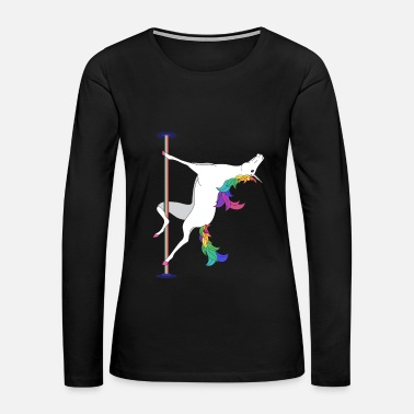 Pole Dance POLE DANCING UNICORN - Women's Premium Long Sleeve T-Shirt