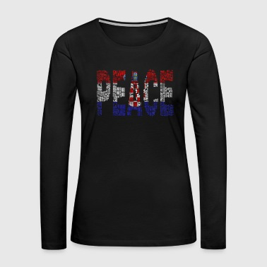 Croatia - Women's Premium Long Sleeve T-Shirt