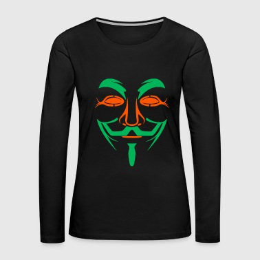 Mask Mask - Mask - Women's Premium Long Sleeve T-Shirt