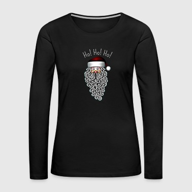 Sexy Santa Ho Ho Ho Merry Christmas - Women's Premium Long Sleeve T-Shirt