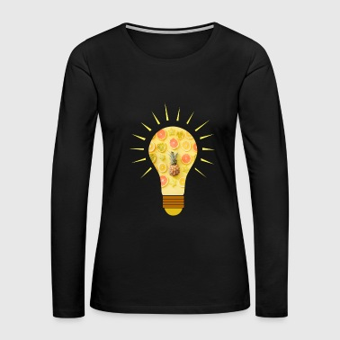 fruits idea bulb idea healthy gift idea - Women's Premium Long Sleeve T-Shirt