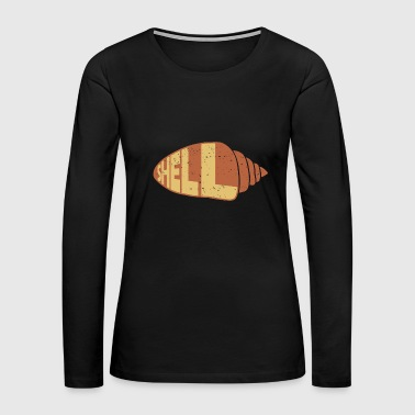I Love Shells addiction gift idea - Women's Premium Long Sleeve T-Shirt
