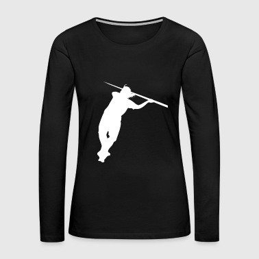 Javelin Throw - Women's Premium Long Sleeve T-Shirt