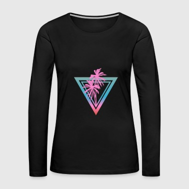 Triangle - Women's Premium Long Sleeve T-Shirt
