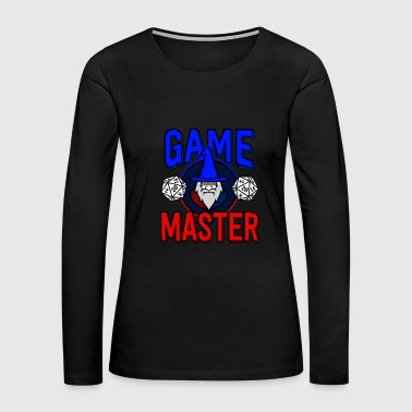 Wizard Dungeons Dragons D&D Role Play Game Gift - Women's Premium Long Sleeve T-Shirt