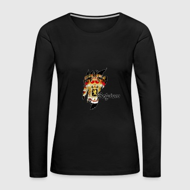 Belgium - Women's Premium Long Sleeve T-Shirt
