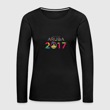 Aruba Aruba 2017 - Women's Premium Long Sleeve T-Shirt