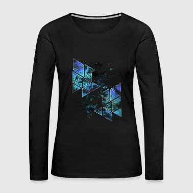 Abstract Colorful - Women's Premium Long Sleeve T-Shirt