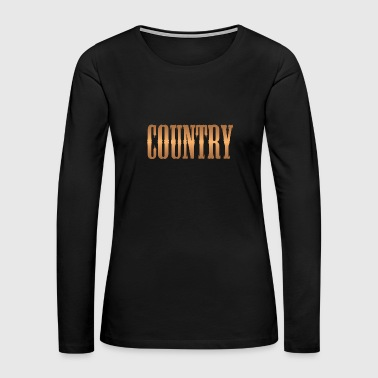 country copper - Women's Premium Long Sleeve T-Shirt