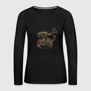 Skunk and Turtle - Women's Premium Long Sleeve T-Shirt