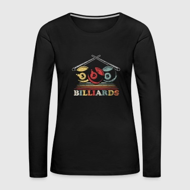 8 Ball Billiard - Women's Premium Long Sleeve T-Shirt