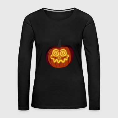 pumpkin - Women's Premium Long Sleeve T-Shirt