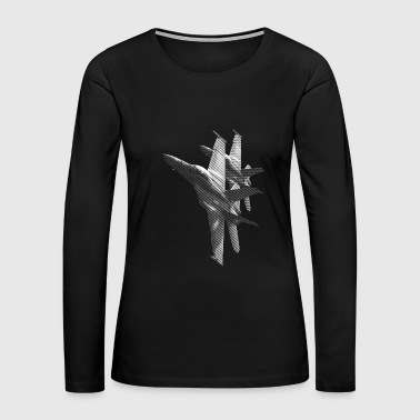 F/A-18 Hornet - Women's Premium Long Sleeve T-Shirt