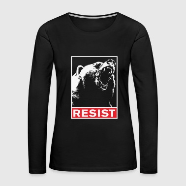 Resist - resist - Women's Premium Long Sleeve T-Shirt