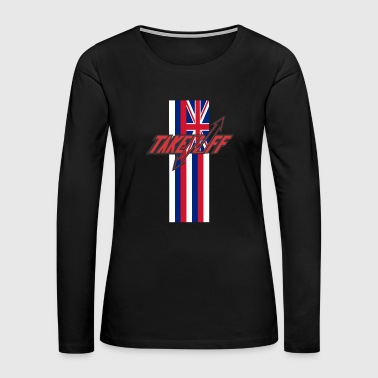TAKEOFF HAWAI'I - Women's Premium Long Sleeve T-Shirt