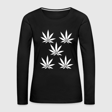 weeds - Women's Premium Long Sleeve T-Shirt
