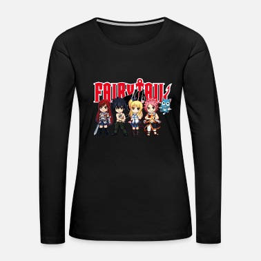 Fairy Tail The Great Demon Group of Fairy Tail Anime - Women's Premium Long Sleeve T-Shirt