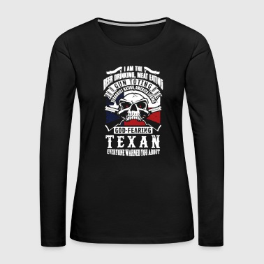 Texans Shirt - Women's Premium Long Sleeve T-Shirt