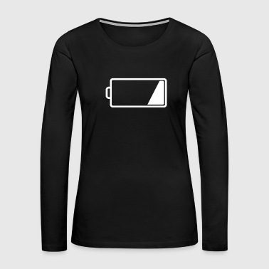 Low Low Charge - Low Battery - Women's Premium Long Sleeve T-Shirt