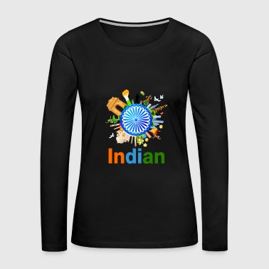 INDIAN - Women's Premium Long Sleeve T-Shirt