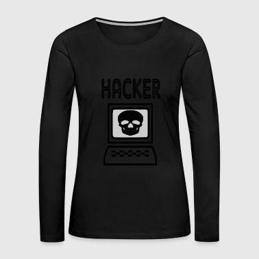 Hackers hacker - Women's Premium Long Sleeve T-Shirt