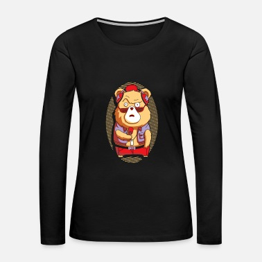 Brown Bear Brown Bear - Women's Premium Long Sleeve T-Shirt