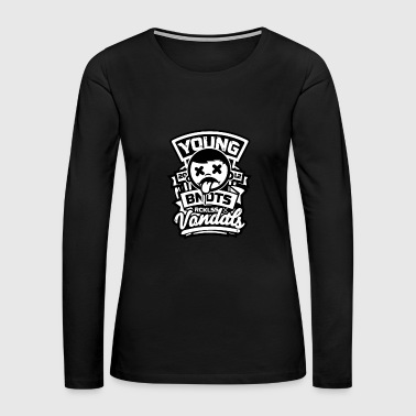 Young - Women's Premium Long Sleeve T-Shirt