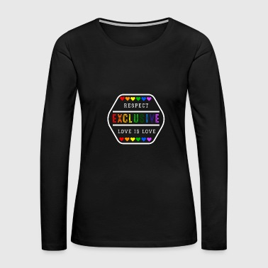 Exclusive LGBT Gay Pride - Women's Premium Long Sleeve T-Shirt