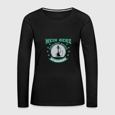 hookah fan - Women's Premium Long Sleeve T-Shirt