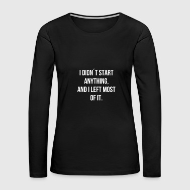 Sex Sayings sayings mallorca saying funny humorous gift sex - Women's Premium Long Sleeve T-Shirt