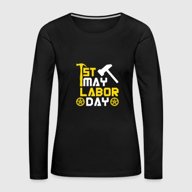 Labor Day Labor Day USA America Holiday Gift Idea - Women's Premium Long Sleeve T-Shirt