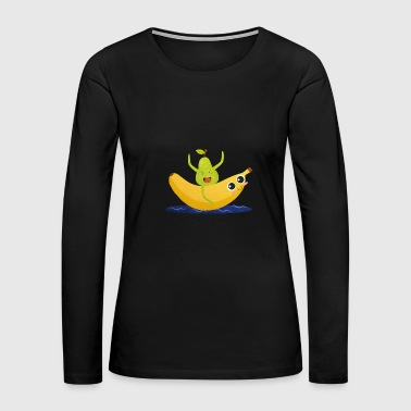 fruits - Women's Premium Long Sleeve T-Shirt