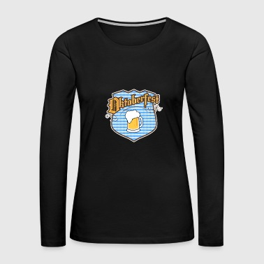 Oktoberfest Oktoberfest, Beer, Party Tee - Women's Premium Long Sleeve T-Shirt