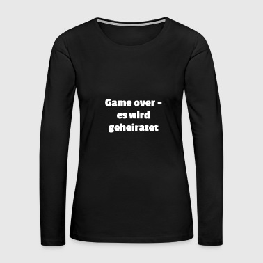 internet nerd saying gaming gamer player gambler - Women's Premium Long Sleeve T-Shirt
