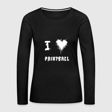 paintball - Women's Premium Long Sleeve T-Shirt