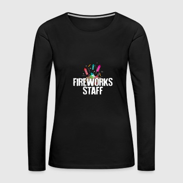 Fireworks Staff - Fireworks - Total Basics - Women's Premium Long Sleeve T-Shirt
