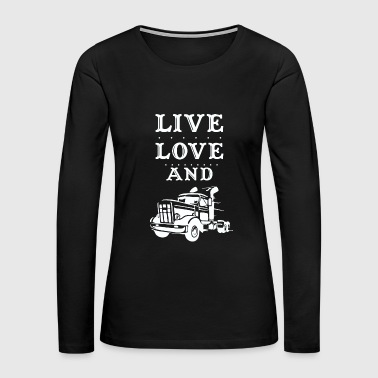 truck driver - Women's Premium Long Sleeve T-Shirt