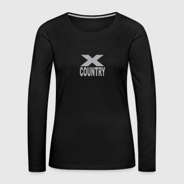 Cross Country - Women's Premium Long Sleeve T-Shirt