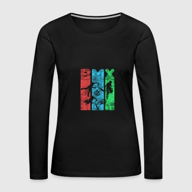 BMX - Women's Premium Long Sleeve T-Shirt