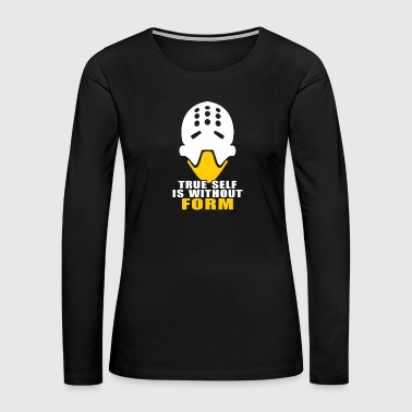 Form zenyatta true form is without form - Women's Premium Long Sleeve T-Shirt