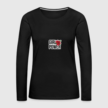 Girl Power - Women's Premium Long Sleeve T-Shirt