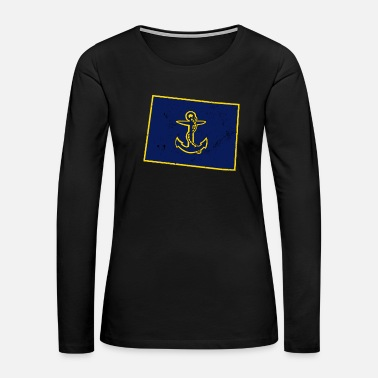Navy Colorado Navy Retirement Gifts Navy Gifts Navy Mom Shirt - Women's Premium Long Sleeve T-Shirt